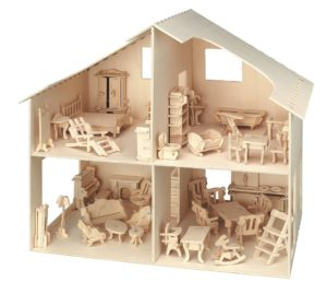 casita muñecas diy